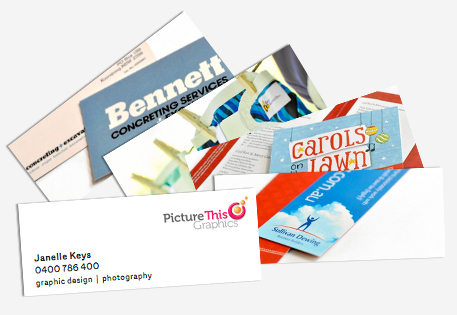 MiniCard portfolio by Picture This...Graphics