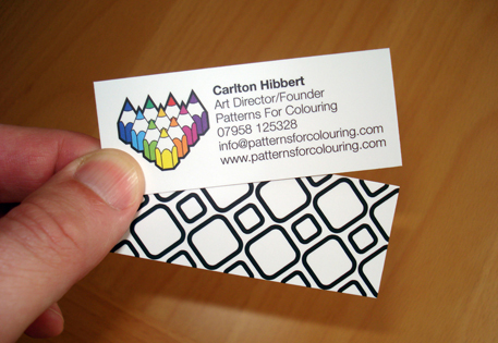 Carlton Hibbert - Patterns for Colouring
