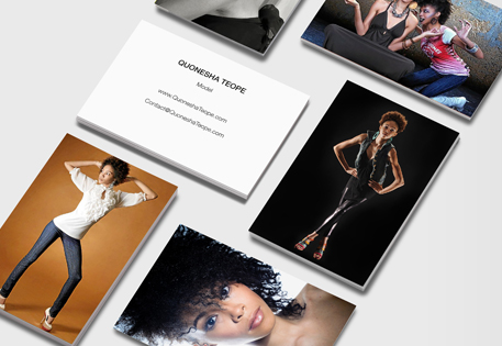 Quonesha Teope Business Cards