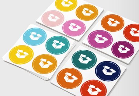 Round stickers round stickers