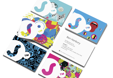 Granimator Business Cards from ustwo
