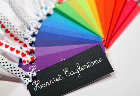 Rainbow MiniCards by Harriet Eaglestone