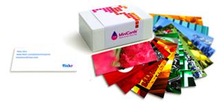 minicards100 MOO! Spaß mit Druck Web