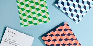 Green Square Business Cards | MOO (United States)