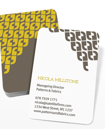 Preview image of Business Card design 'Lets Talk'