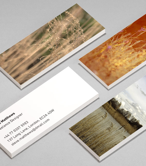 MiniCard designs - Fields of Joy