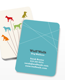 Preview image of Business Card design 'A Lotta Dogs'