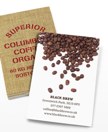 Preview image of Business Card design 'Coffee Origins'