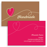 Art craft business cards business card for artists crafters love handmade colourmoves