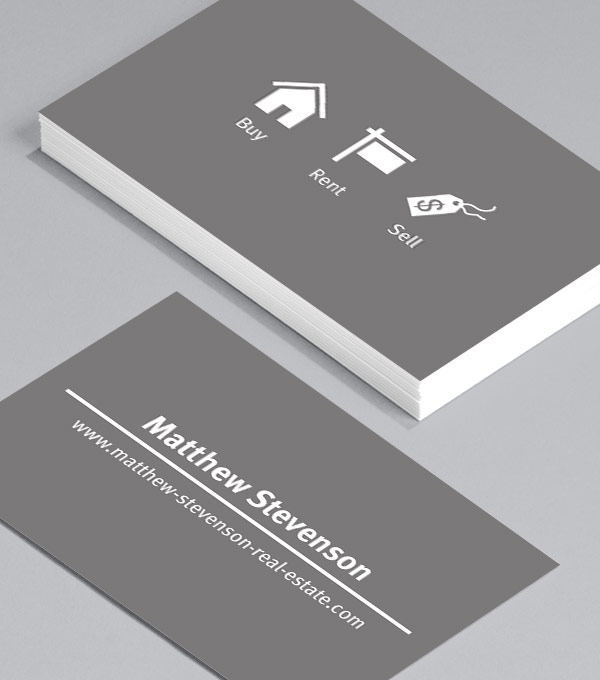 Business Card designs - Iconography