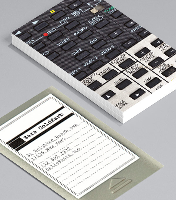 Business Card designs - Push My Buttons