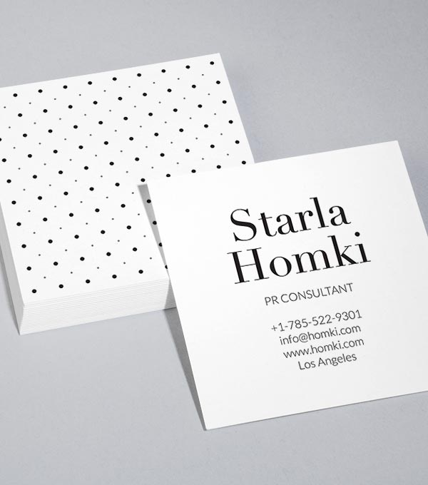Browse square business card design templates moo australia dot luck reheart