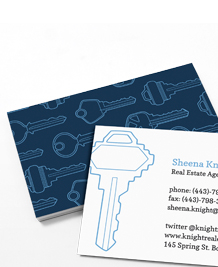 Preview image of Business Card design 'Keys to the Kingdom'