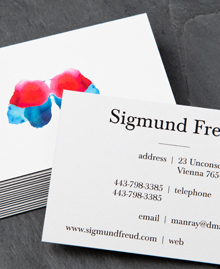 Business Card designs - Sigmund Freud