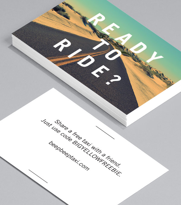 Business Card designs - And Away You Go