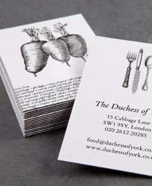 Business Card designs - Mother's secret recipes
