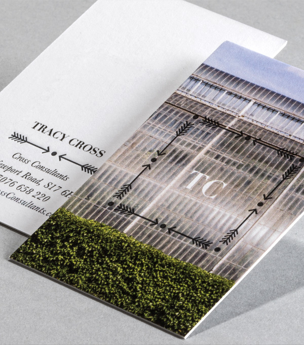 Business Card designs - Straight n arrow