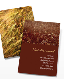 Business Card designs - Fields of Joy