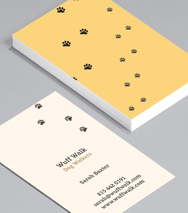 Business Card designs - Mucky Pups