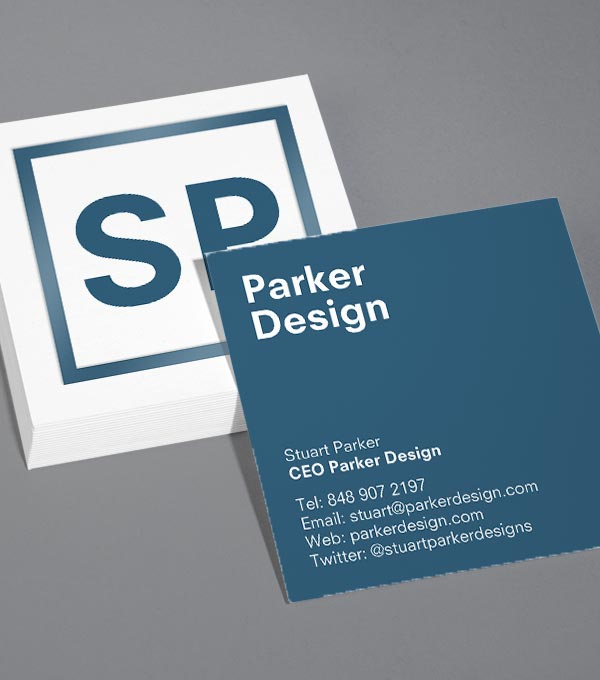 Tailored Collection Business Card Designs