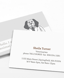 Preview image of Business Card design 'Animal Doctors'