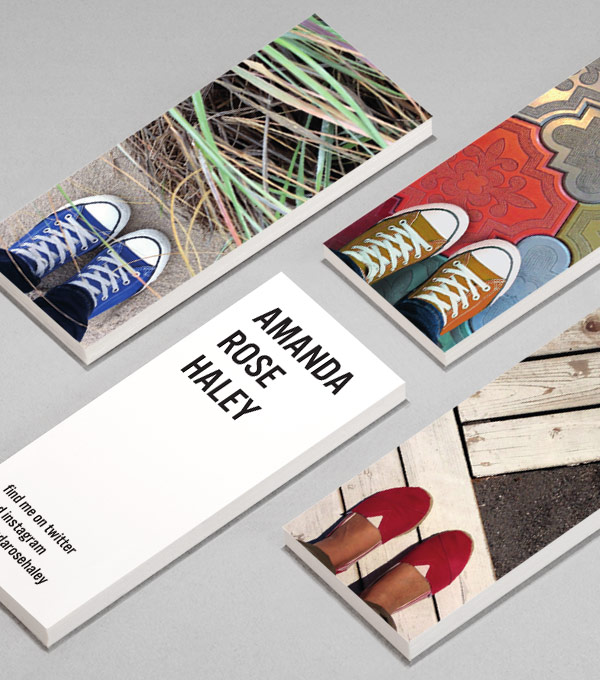 Design per MiniCard - If the Shoe Fits