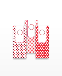 Designs de MiniCards - Polka Dot Hangtags