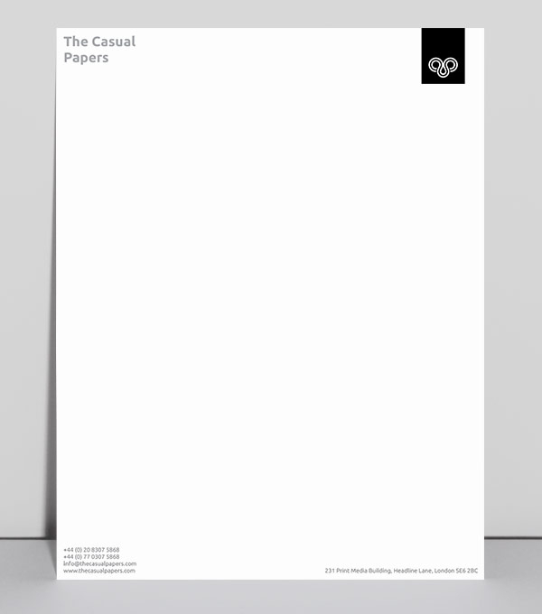 browse letterhead design templates moo canada