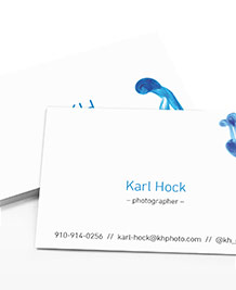 Business Card designs - Dropped Ink