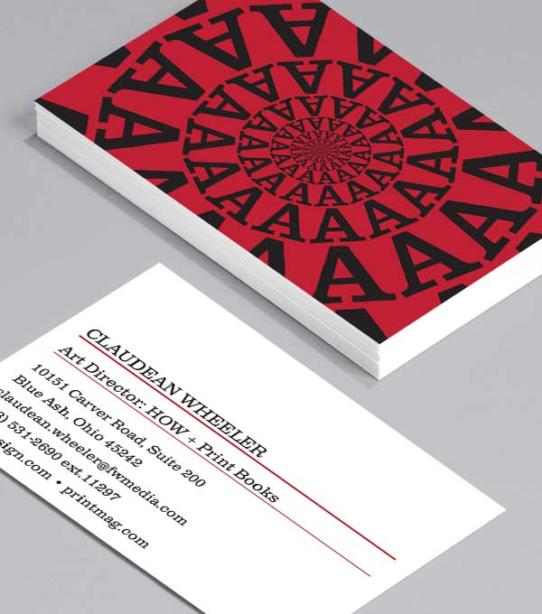 Business Card designs - Letter Love