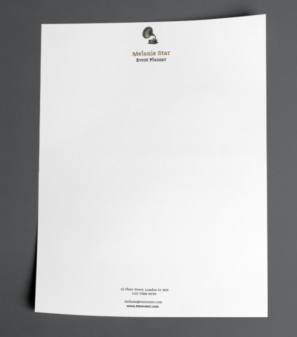 idea explosion letterhead designs - Letterhead Design Ideas