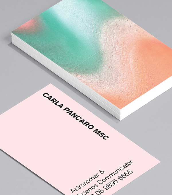 Business Card designs - Asteroid Dream