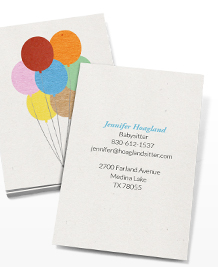 Business Card designs - Paper Balloons