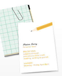 Preview image of Business Card design 'Simply Stationery'