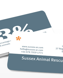 Preview image of Business Card design 'Numbers'
