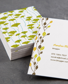 Business Card designs - Natural Communicators