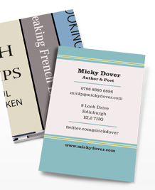 Business Card designs - Shelve it!
