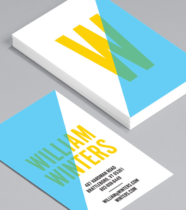 Business Card designs - What's Your Angle?