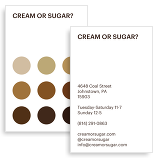Cream Or Sugar?