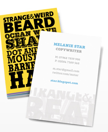 Preview image of Business Card design 'Cockney Rhyming Slang'