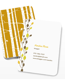 Preview image of Business Card design 'Natural Communicators'