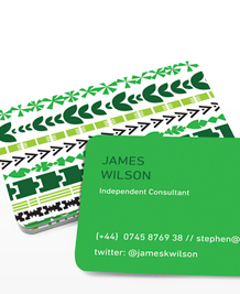 Preview image of Business Card design 'Hello Hello again'