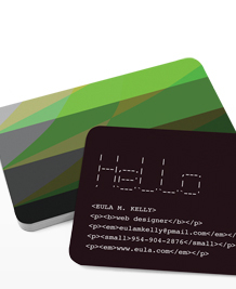 Preview image of Business Card design 'Web Colours'