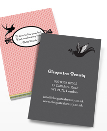 Preview image of Business Card design 'Beauty Talks'