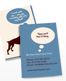 Designs de Cartes de Visite - Animal Thoughts
