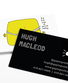 Preview image of Business Card design 'Inspiration by gapingvoid'