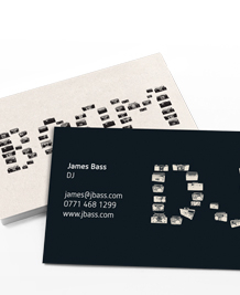 Business Card designs - Boom Box Words