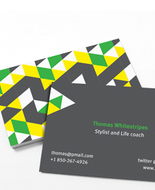 Preview image of Business Card design 'What not to wear'