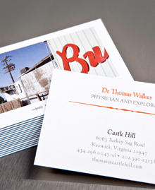 Preview image of Business Card design 'Sad Places'