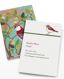 Preview image of Business Card design 'Chelsea Groves'